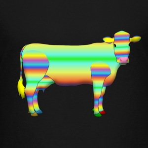 colour cow T-shirts - Teenager premium T-shirt