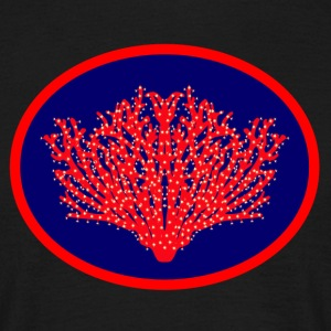 coral red T-Shirts - Men's T-Shirt
