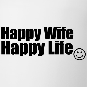 Happy Wife, Happy Life Bottles & Mugs - Mug