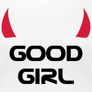 Good Girl T-shirts - Dame premium T-shirt