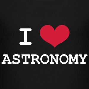 I Love Astronomy T-shirts - Teenager premium T-shirt