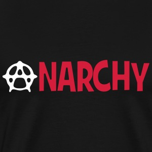 Anarchy ! T-shirts - Herre premium T-shirt
