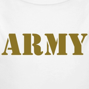 Army Pullover & Hoodies - Baby Bio-Langarm-Body