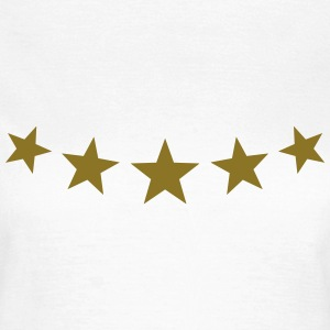 Five Stars, winner, hero, best, 5, golden, award T-Shirts - Women's T-Shirt