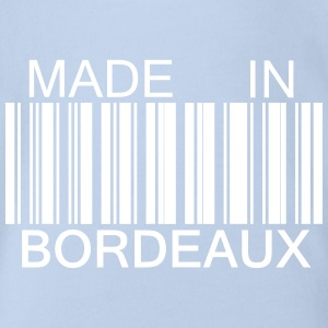 Made in Bordeaux 33 Tee shirts - Body bébé bio manches courtes