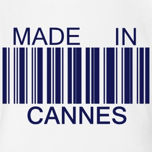 Made in Cannes 06 Tee shirts - Body bébé bio manches courtes