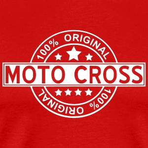 moto cross - T-shirt Premium Homme