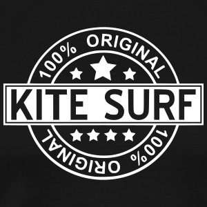 kite surf T-shirts - Herre premium T-shirt