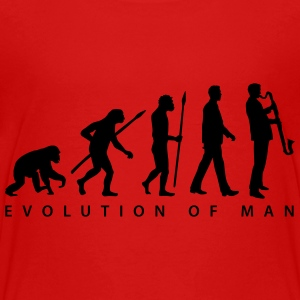 evolution_bass_klarinette_spieler_082013 T-Shirts - Teenager Premium T-Shirt