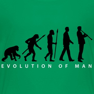 evolution_klarinette_spieler_082013_b_2c T-Shirts - Teenager Premium T-Shirt