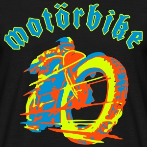 Motörbike 3 colors selectable T-shirts - Mannen T-shirt