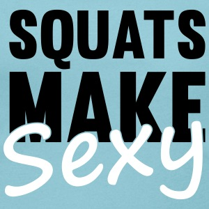 Squats Make Sexy T-Shirts - Women's Scoop Neck T-Shirt