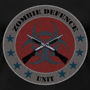 Zombie Defense Unit - Women's Premium T-Shirt