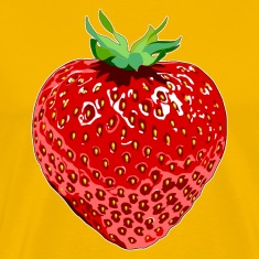 Sun yellow Erdbeere Strawberry T-Shirts
