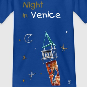 Kinder T-shirt - Venedig Illustration - Teenager T-Shirt