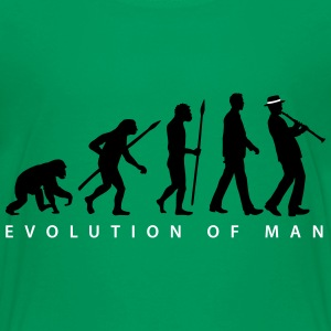 evolution_clarinet_player_092013_b_2c T-Shirts - Teenager Premium T-Shirt