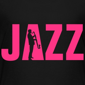 jazz_bass_klarinette_spieler_092013_a_1c T-Shirts - Teenager Premium T-Shirt