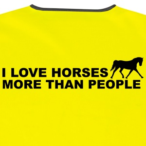 I Love Horses More Than People Jacks & vesten - Veiligheidsvest