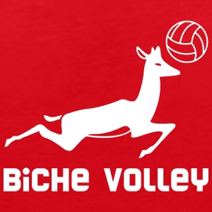 Biche Volley - Fair Wear tee shirt col V - T-shirt col V Femme