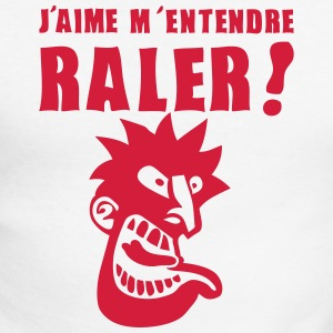 aime entendre raler tete nerveux grognon Tee shirts manches longues - T-shirt baseball manches longues Homme