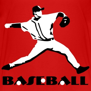 Baseball, Baseball Player T-Shirts - Teenager Premium T-Shirt