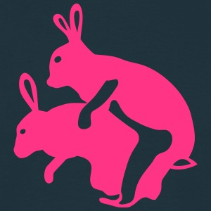 lapin amour rabbit sexe baise coite 1 Tee shirts - T-shirt Homme