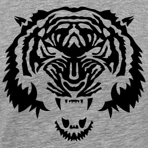 tigre animal tribal sauvage tiger 3 Tee shirts - T-shirt Premium Homme