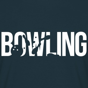 quilles bowling Tee shirts - T-shirt Homme