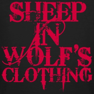 Sheep In Wolf's Clothing - red T-Shirts - Männer Bio-T-Shirt
