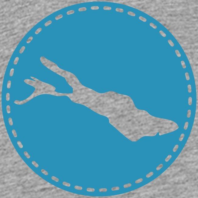 KIDS Lake flock blau