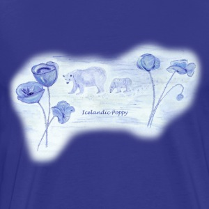 Icelandic Poppy - Men's Premium T-Shirt
