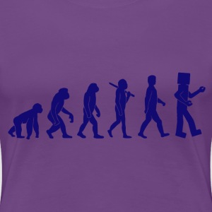 Robotic Evolution - Women's Premium T-Shirt