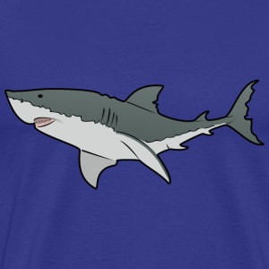 Great White Shark - Ocean - Sea T-Shirts - Men's Premium T-Shirt