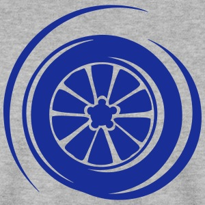 pneu roue wheel vitesse symbole 8 Sweat-shirts - Sweat-shirt Homme