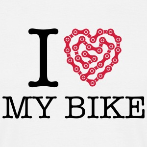 I Love My Bike Tee shirts - T-shirt Homme