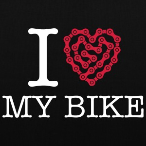 I Love My Bike Sacs et sacs à dos - Tote Bag
