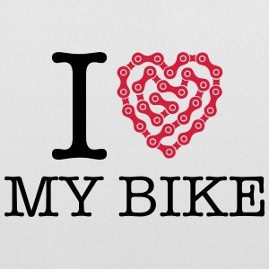 I Love My Bike Bags & backpacks - Tote Bag