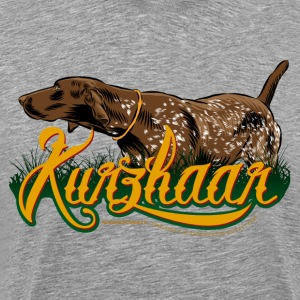 brown_kurzhaar T-Shirts - Men's Premium T-Shirt