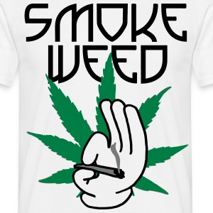 smoke_weed Tee shirts - T-shirt Homme