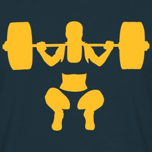 weightlifting T-skjorter - T-skjorte for menn