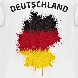 Deutschland Text Landkarte Flagge Graffiti T-Shirts - Teenager Premium T-Shirt