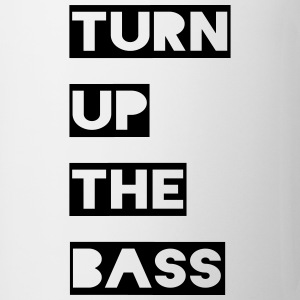 Turn up the bass Bottles & Mugs - Mug