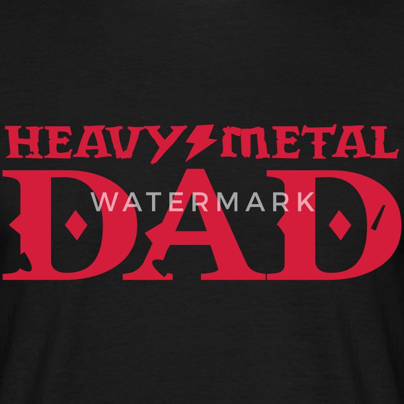 heavy metal dad T-Shirts - Men's T-Shirt