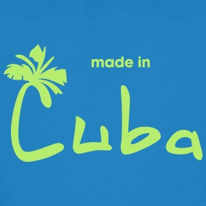 Made in Cuba - T-shirt ecologica da uomo