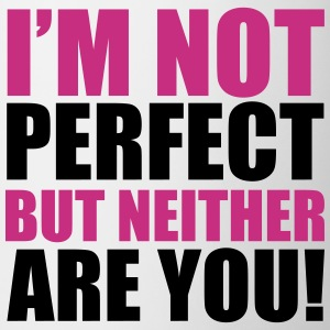 I'm Not Perfect Flessen & bekers - Mok
