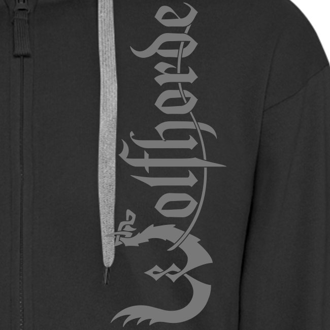 Wolfhorde Zipper Hoodie (Deathknot Wolves on the backside)