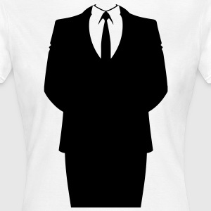 Suit and Tie Tee shirts - T-shirt Femme