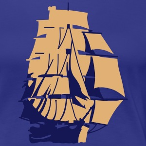 Sail ship T-Shirts - Women's Premium T-Shirt