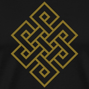 Tibetan endless knot, eternal, infinity, celtic T-Shirts - Men's Premium T-Shirt