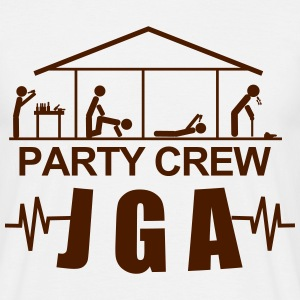 JGA,Junggesellenabschied,Bachelor,Security,Party, T-Shirts - Männer T-Shirt